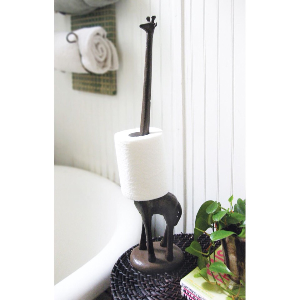 Toilet Paper Holder Shelf Musely