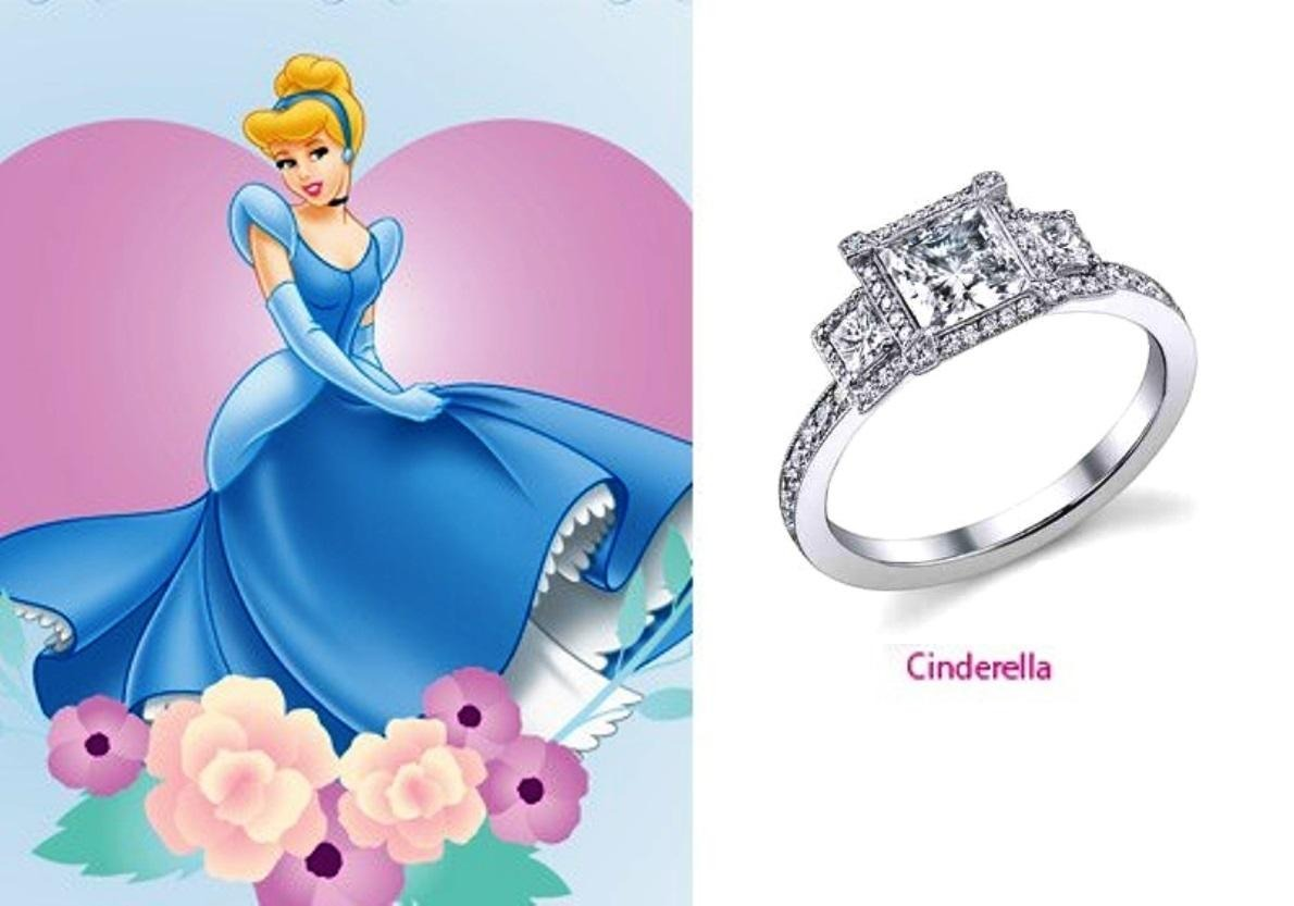 rings inspired by disney princesses musely
