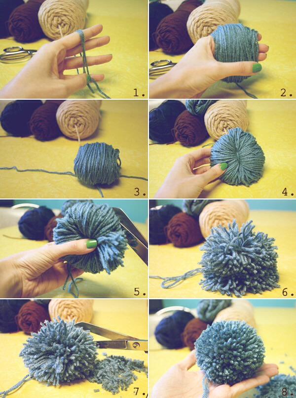 Как сделать бубончики для шапки