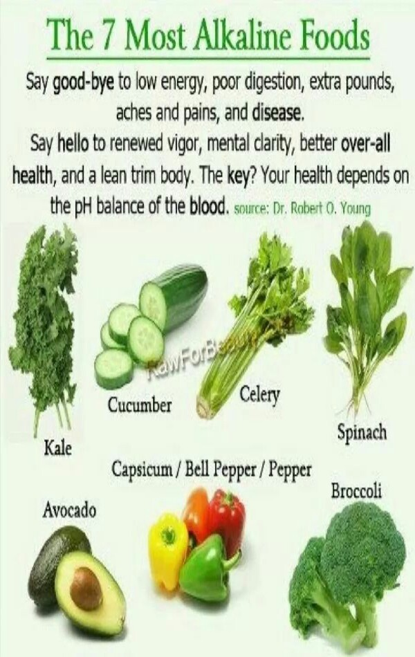 The 7 Most Alkaline Foods Musely