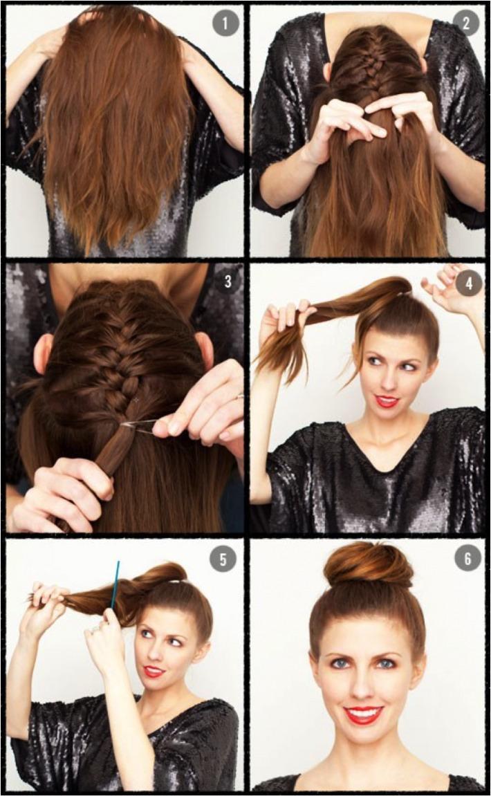 Укладка на длинные волосы своими руками в домашних условиях фото