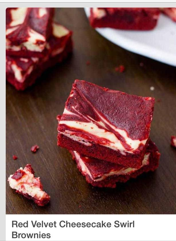 Delicious Red Velvet Cheesecake Swirl Brownies - Musely