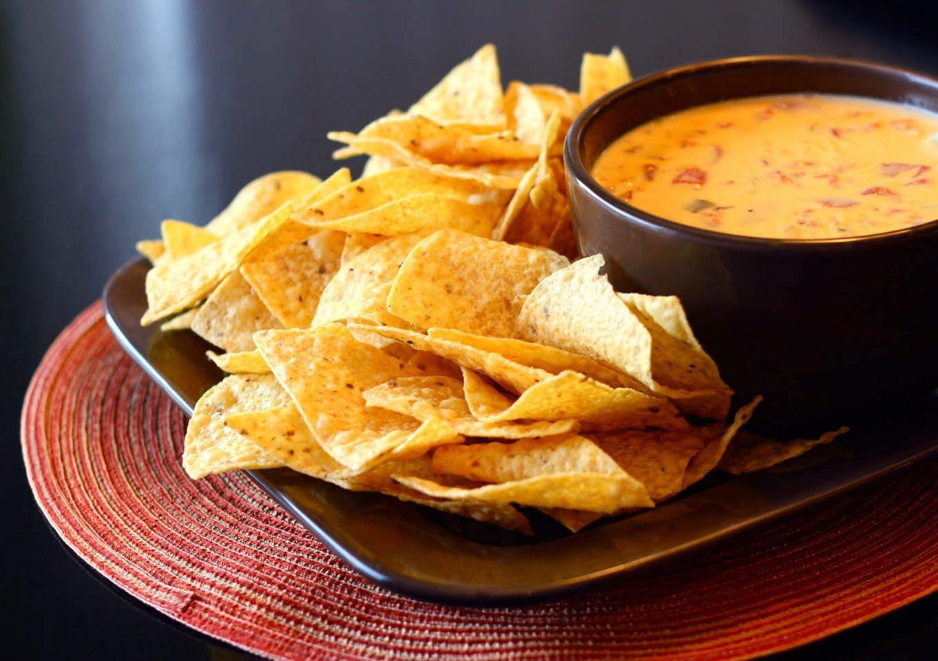 Nachos and cheese pictures Vegan Nachos with Queso Minimalist Baker Recipes