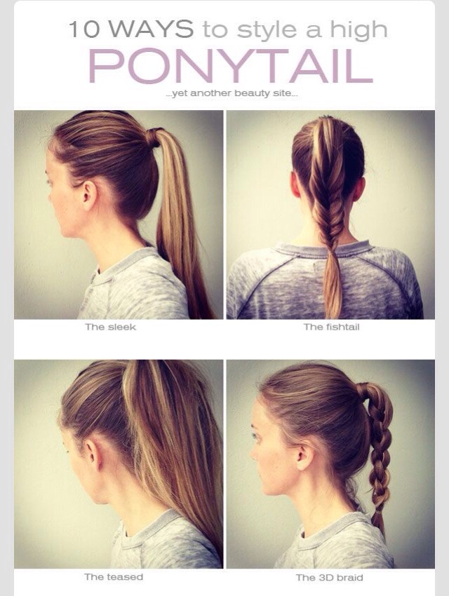 10 Different Ways To Style A High Ponytail Musely
