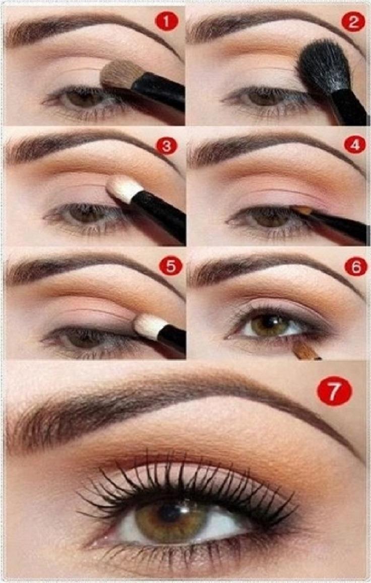 Как научиться делать повседневный макияж самой себе пошагово