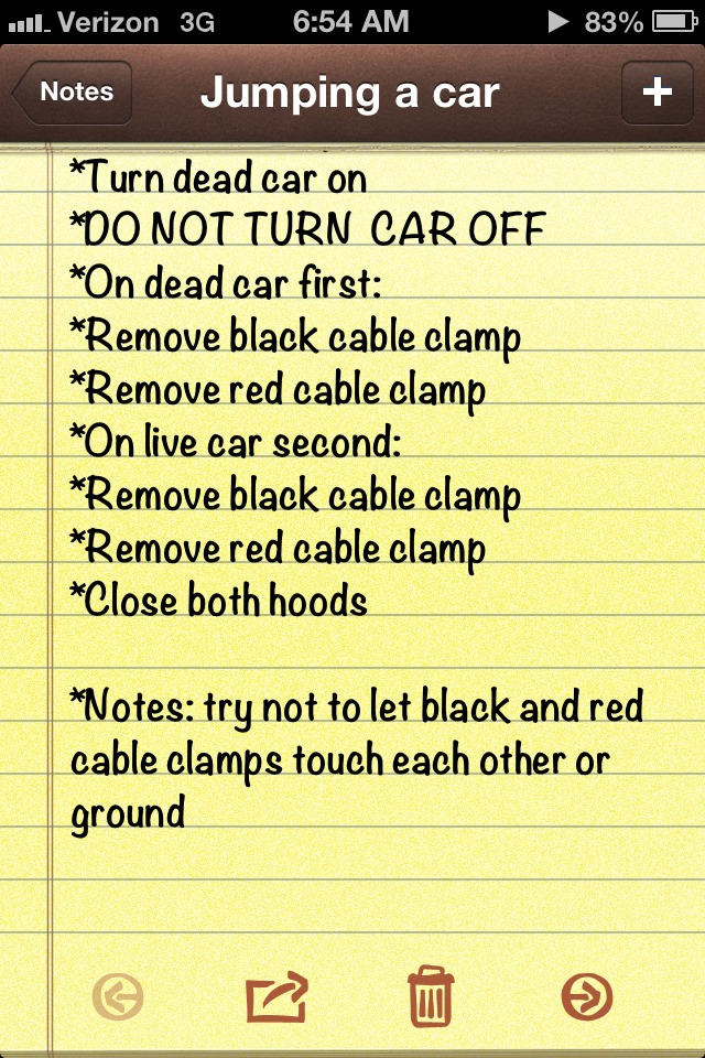 how to start a dead car