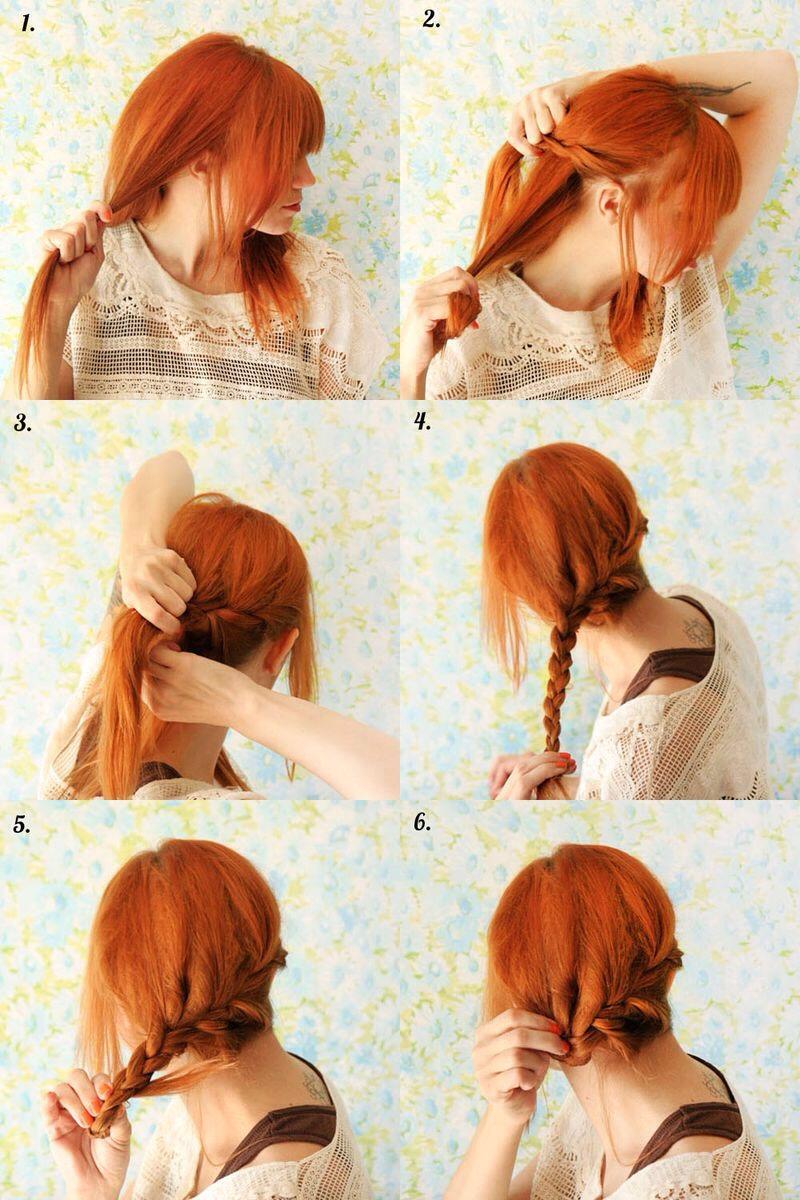Длинные волосы прически в домашних условиях просто