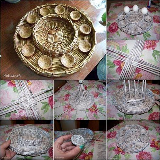 Easter egg tray diy musely Egg tray craft ideas
