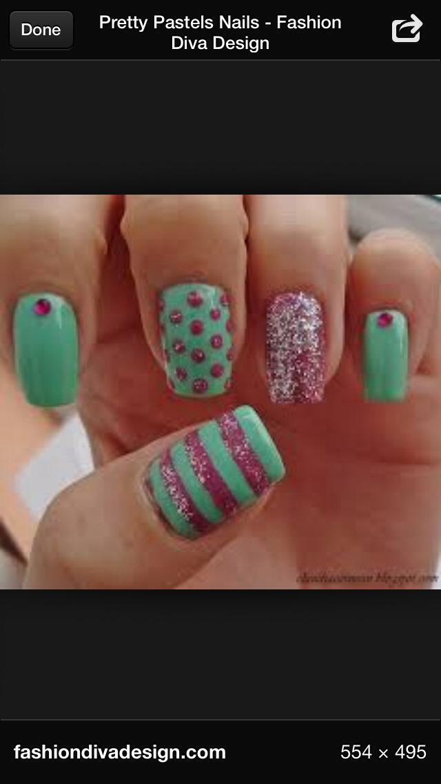 How To Make A Cute Nail Design Musely