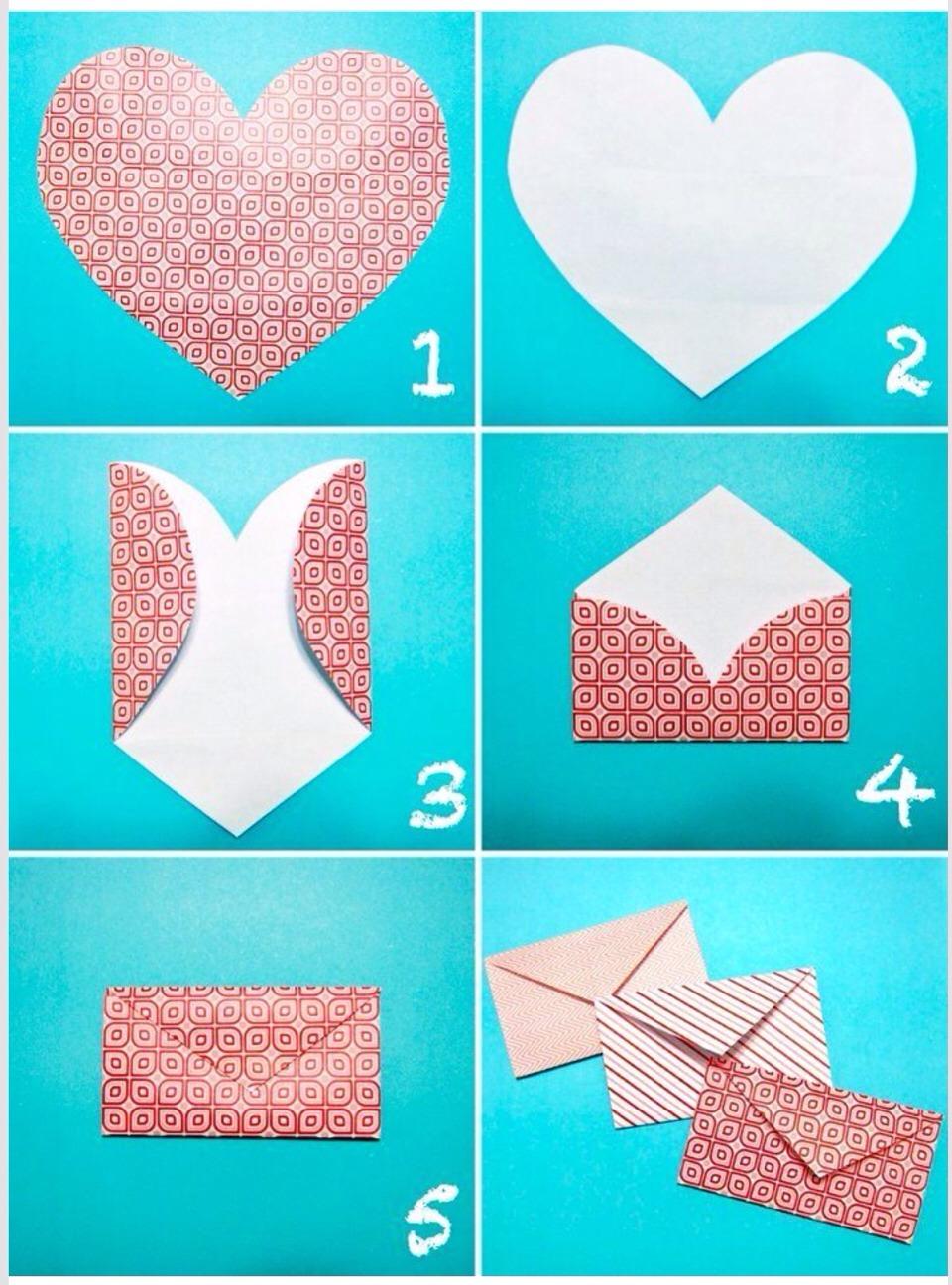 Как сделать конверты из бумаги для личного дневника