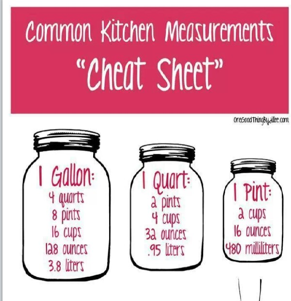 Kitchen Measurements: Musely