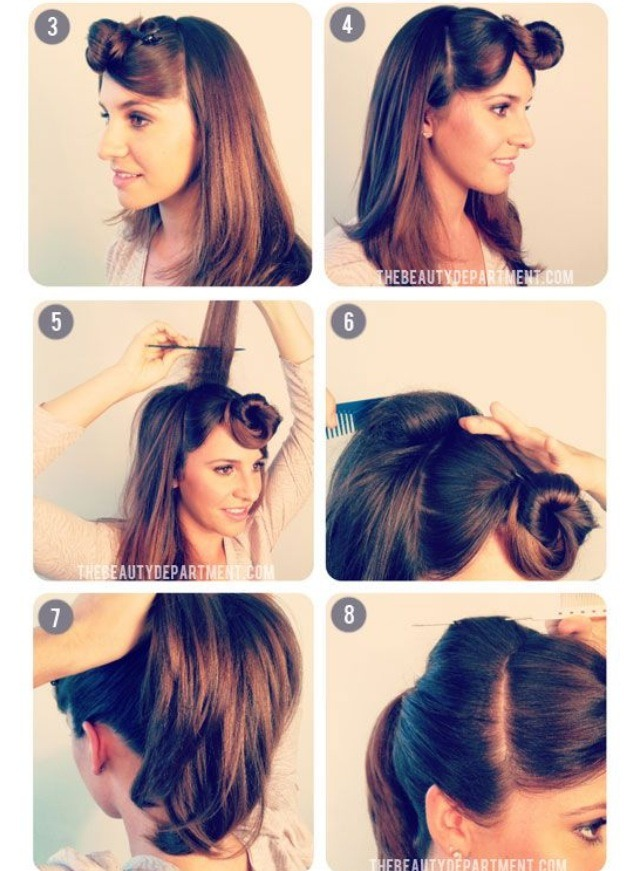 1950′S INSPIRED PONYTAIL - Musely