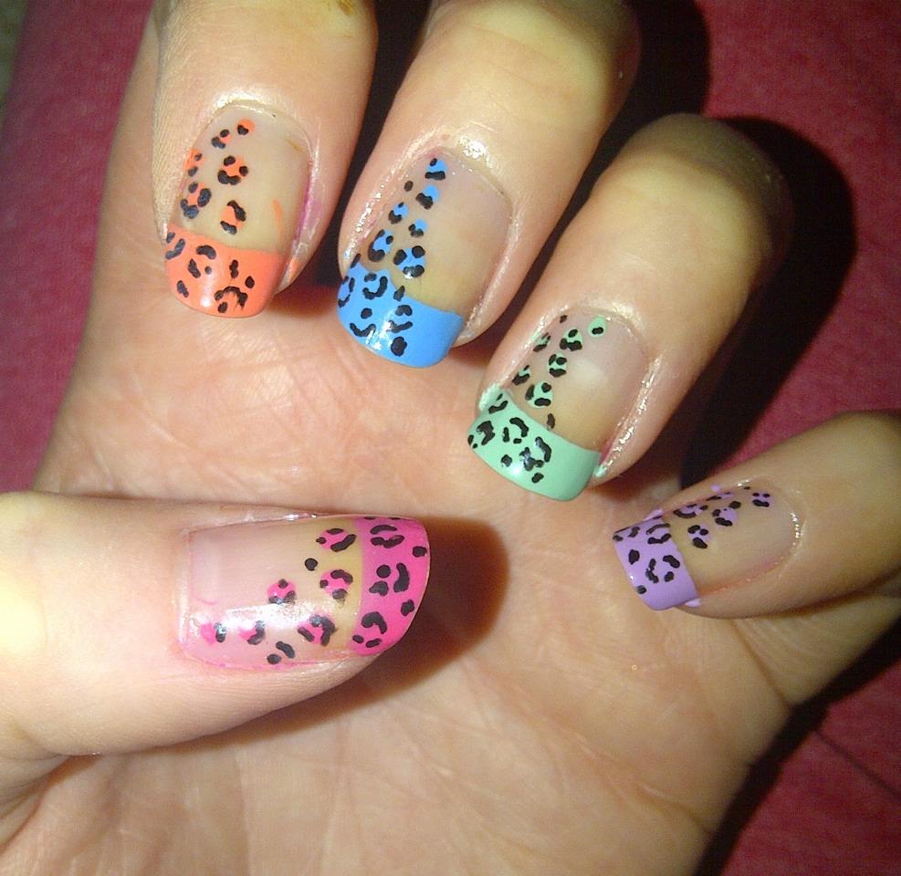 Рисунки на ногтях для коротких ногтей фото