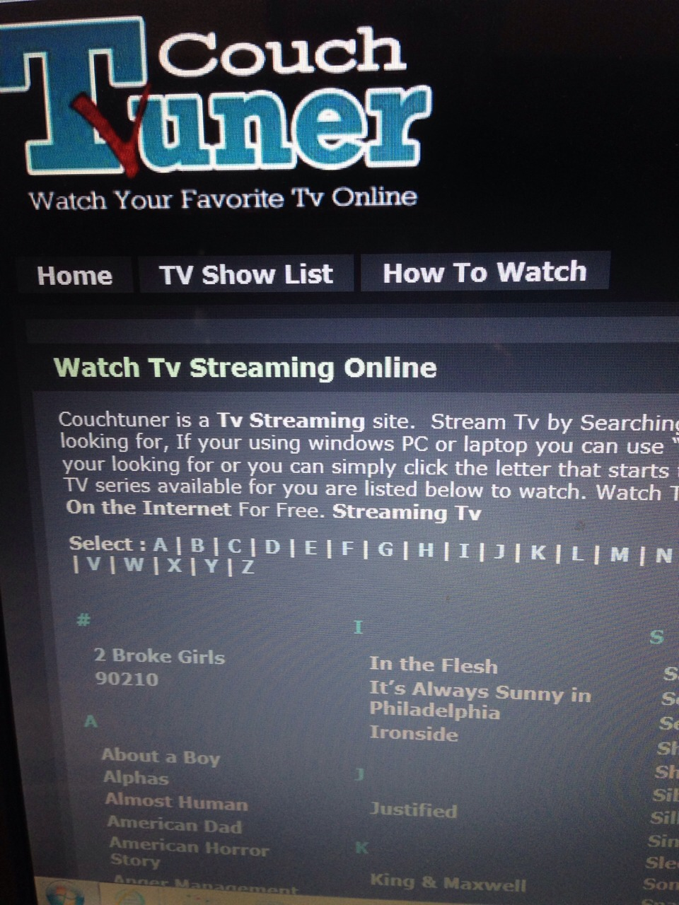 Watch every tv show for free and you 39 ll love it musely for Couchtuner 02