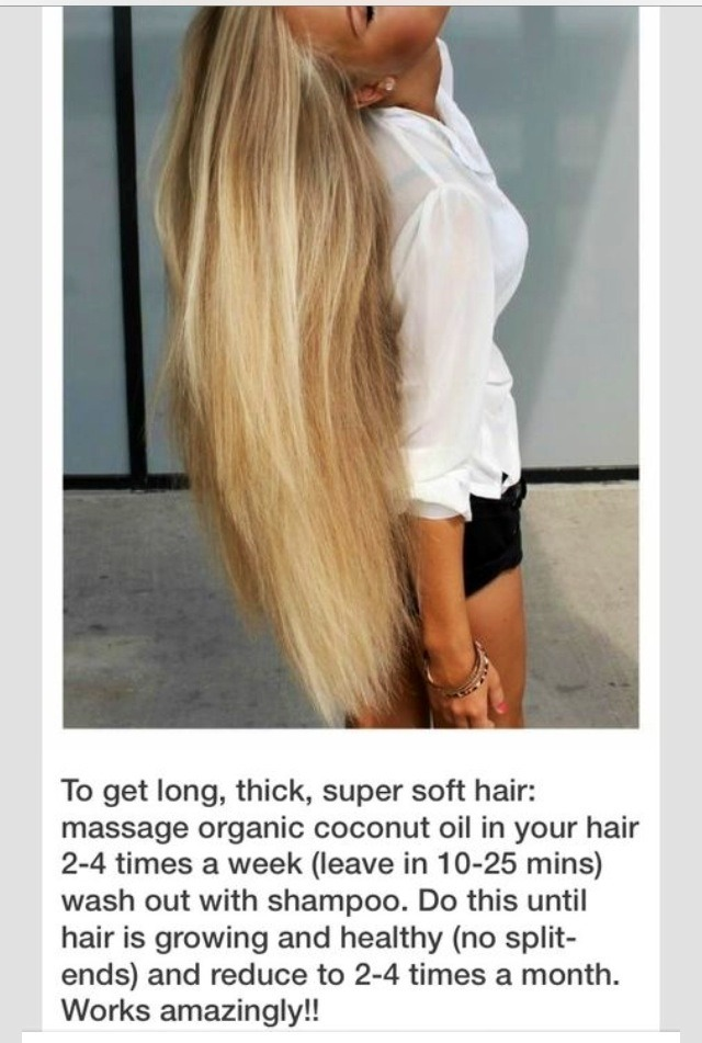 how to grow hair longer and thicker in a week