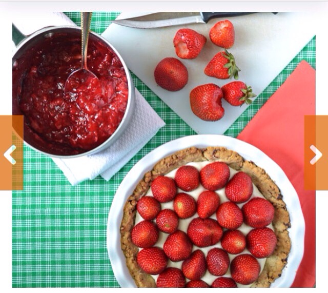 Superbly Awesome Strawberry Pie💖