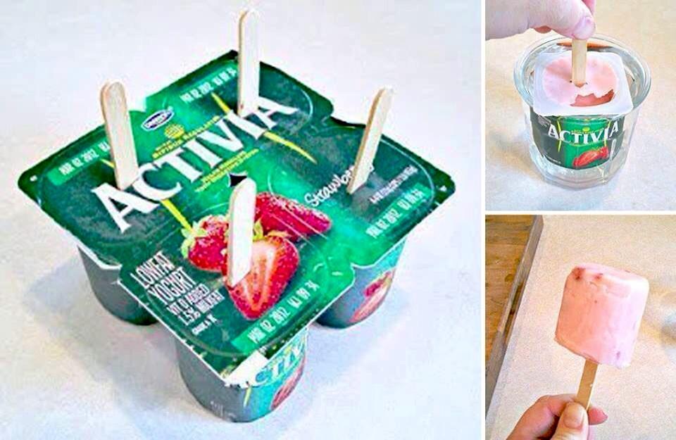 Мороженое с йогурта в домашних условиях