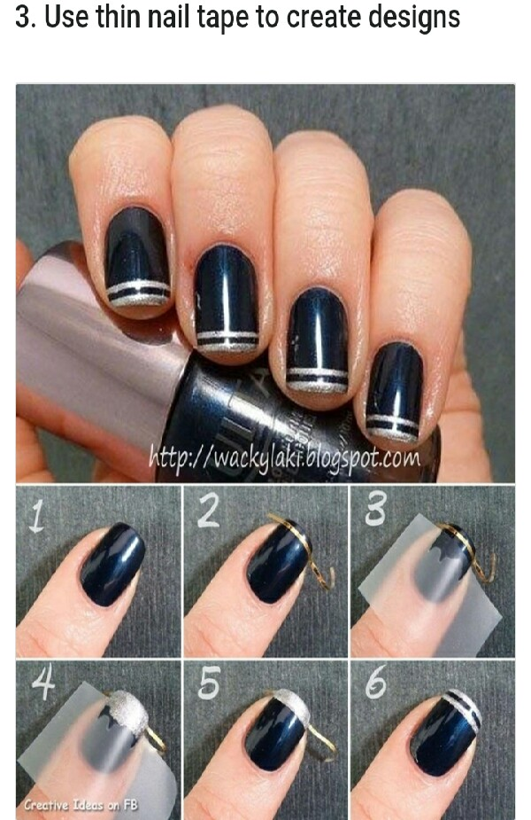 23 Easy Nail Art Hacks You Can Do On Yourself Musely
