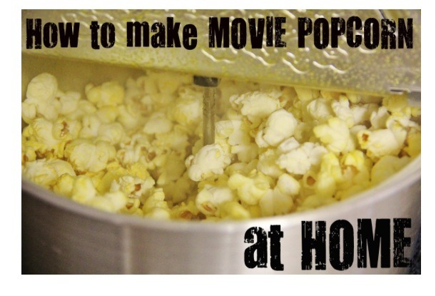 how to make your own movie at home
