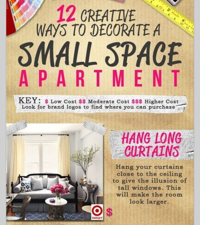 You Can Make Your Small Apartment Look Bigger Musely
