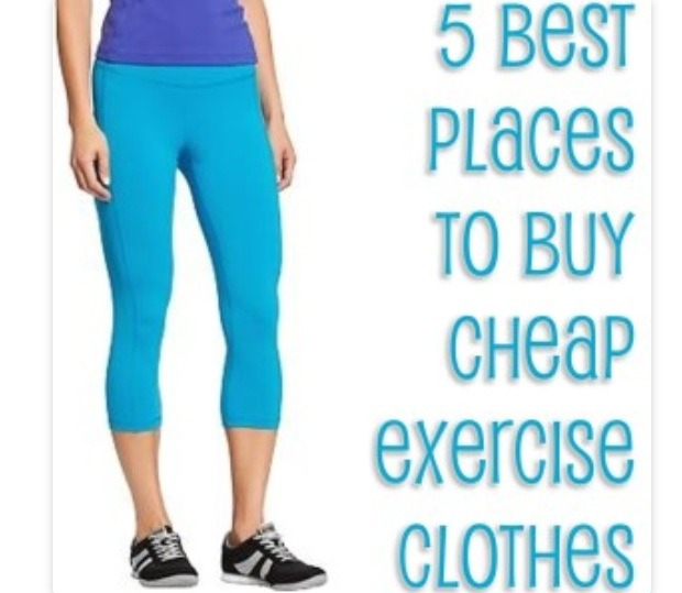 5 Best Places To Buy Cheap Exercise Clothes Musely