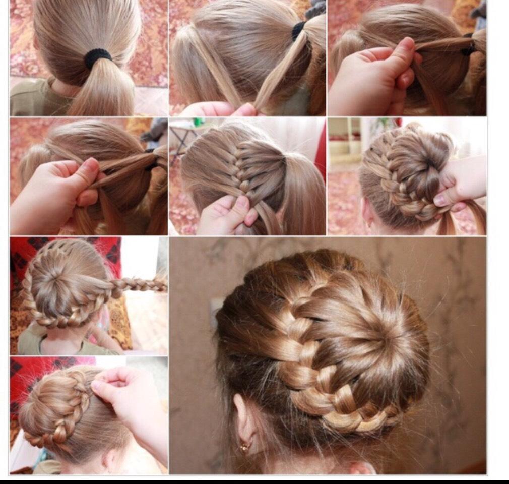 Как заплести косу самой себе: 9 пошаговых причесок с фото 54