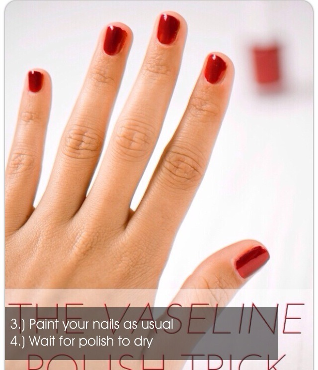 how to get perfect nail polish