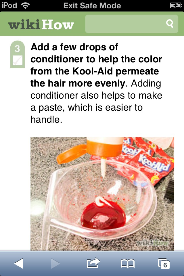 Dye Your Hair With Kool-Aid - Musely