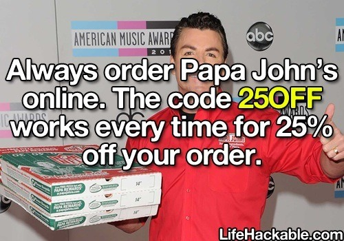 Get 25 of papa johns pizza musely for 6 dollar shirts coupon code free shipping