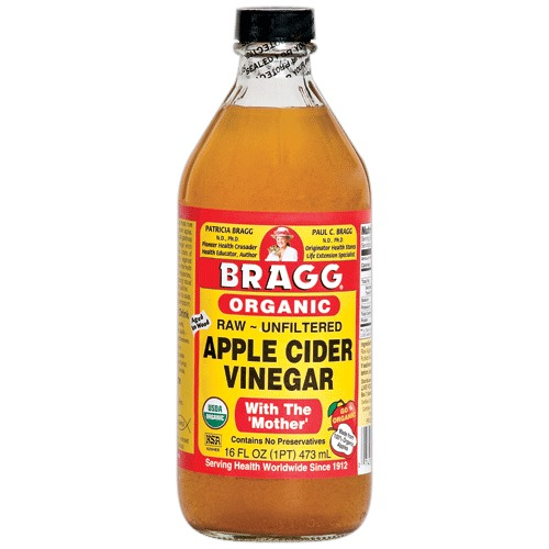 Do 2x a week & use the good stuff. The raw,organic,unpasteurized ACV. (I use Bragg's) Do not worry because the ACV smell will dissipate as ur hair dries. But if you just want to be sure,you can add a few drops of your favorite essential oil to the mixture.(Rosemary oil promotes hair growth too,btw)