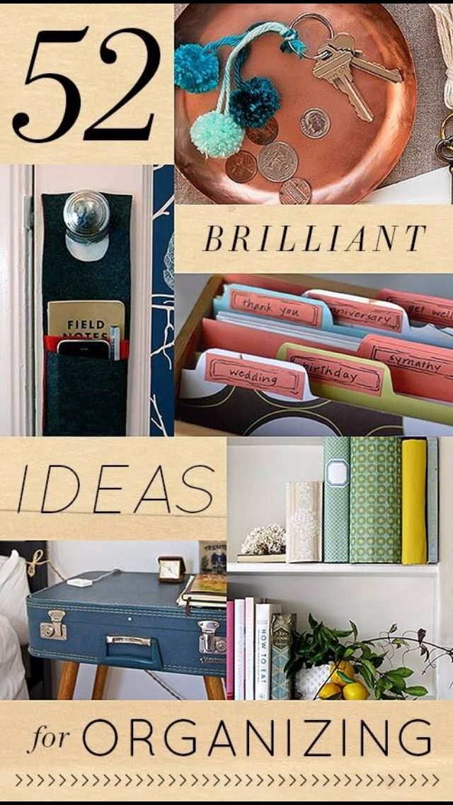 52 Brilliant Ideas For Organizing Your Home Musely