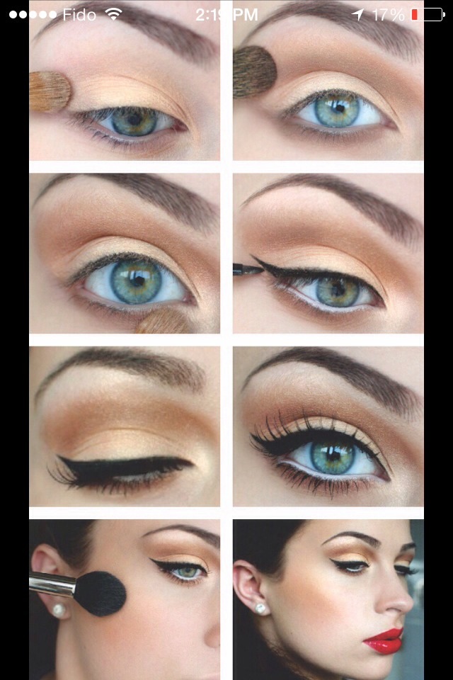 Simple Steps To Getting PERFECT Eyeliner!