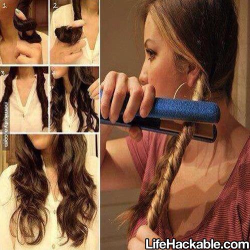 Hair Hack Twist Curling Musely