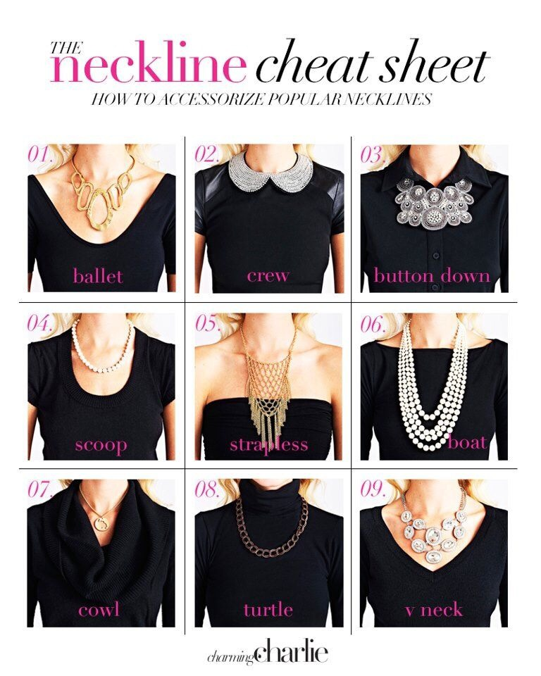 Choosing The Right NECKLACE For Your Neckline??