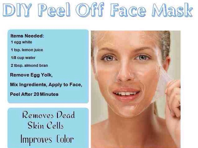 Diy peel off face mask musely - Masque peel off maison ...