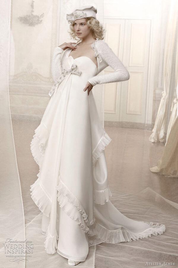 Winter Wonderland Wedding Dresses Musely