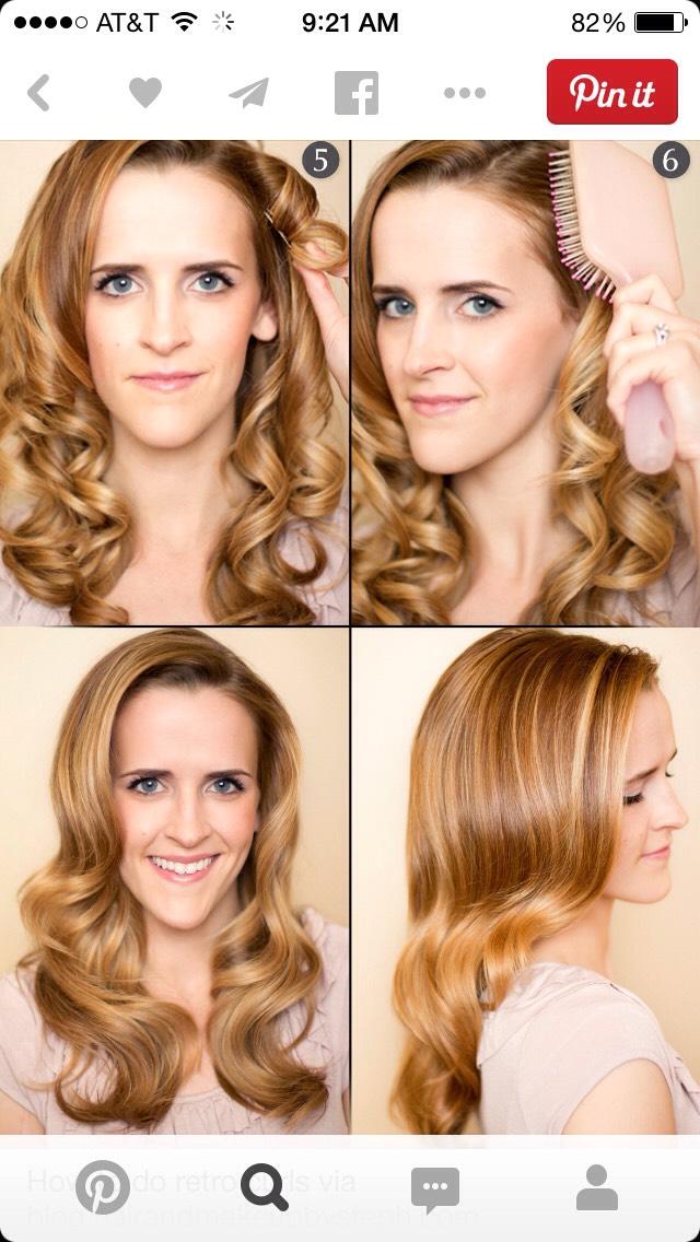 Как завить волосы в домашних условиях волны