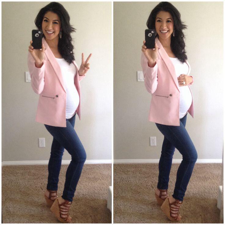 Как стильно одеваться беременным
