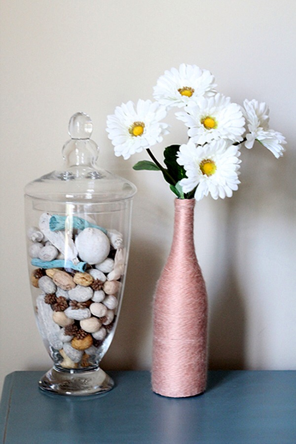 Decorate with empty wine bottles and unused vases musely for What can you do with empty wine bottles