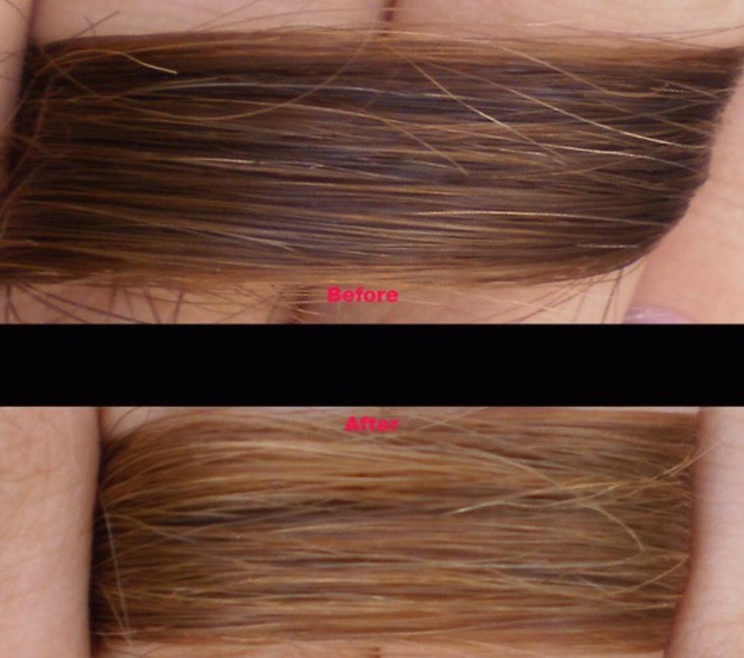 Средства для осветления волос в домашних условиях 293