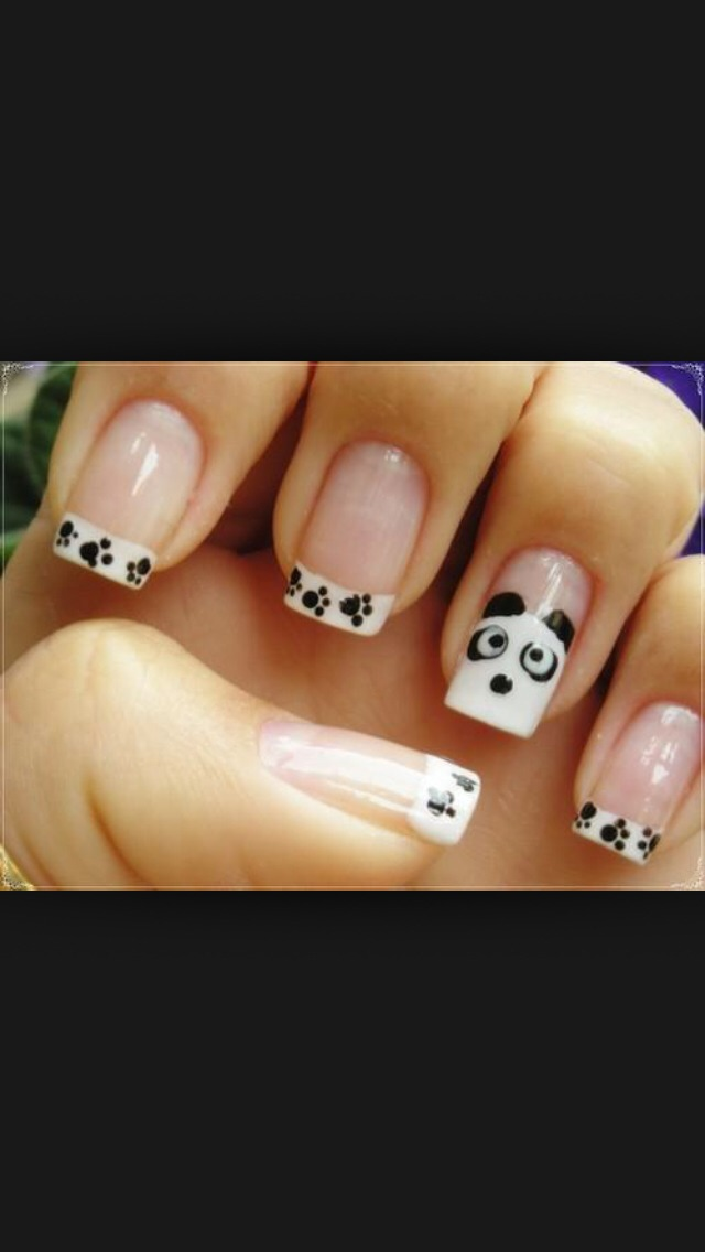 Its All French Nails With Super Cute、sample、easy & Cool