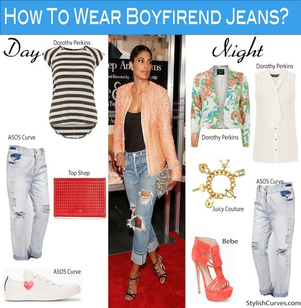 how to wear boyfriend jeans if you are short