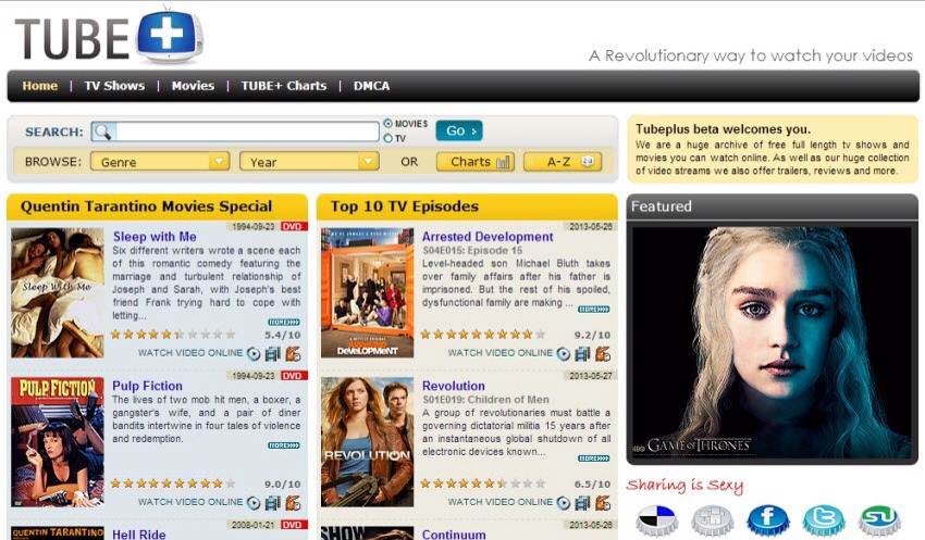 Best Free Movie And Tv Shows Websites Musely