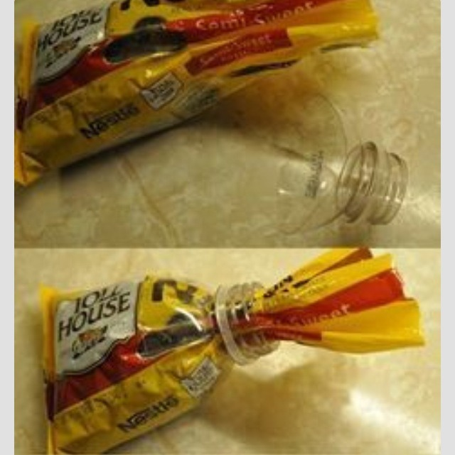 how to cut the top off a wine bottle