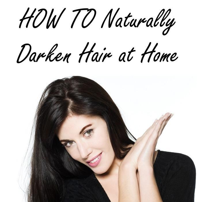 How Do You Darken Hair Naturally