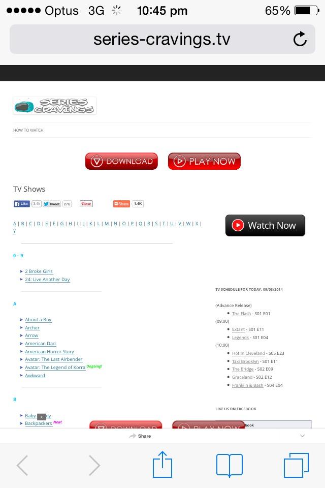 how to fix watch series website