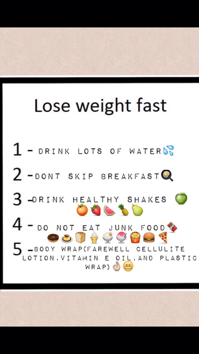reddit how to lose weight fast