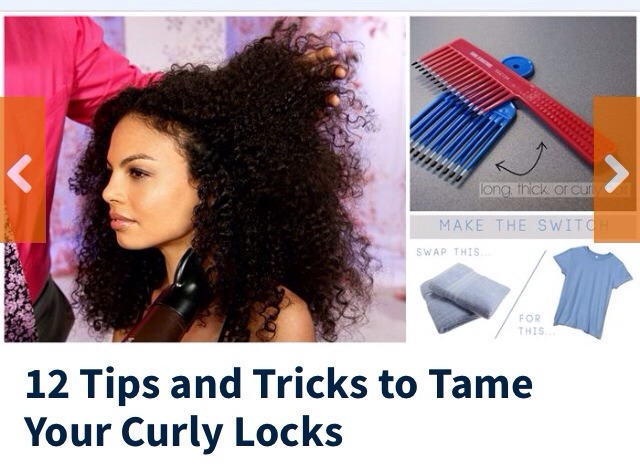 12 Tips And Tricks To Tame Curly Locks?