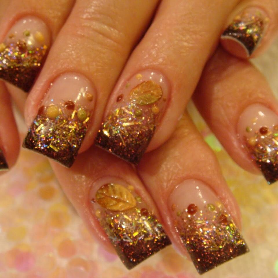 Дизайн ногтей гель-лаком 76
