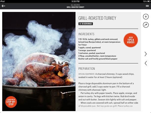 Grill Roasted Turkey - Musely